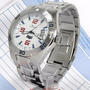 Ko20045s Relógio De Pulso Condor Fight Masculino Prata