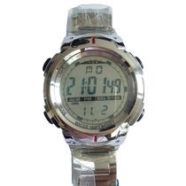Relógio Atlantis Sport Digital G7453 Resistente Água - Metal