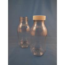 Envase De Plastico Pet De 250ml Lechero Con Tapa Rosca