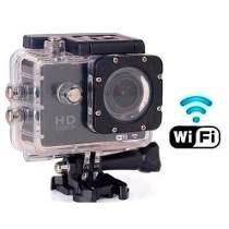 Câmera Sj4000 Action Wi Fi Esportiva A Prova Dágua Compacta