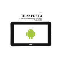 Tablet Lenoxx Tb52 Com Android 4.0 Wi-fi Tela 7 4gb Preto