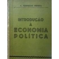Livro Introdução À Economia Política A Temperani Pereira