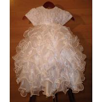 Divino Vestido Escarolas Tutu 2, 3 Años Fiesta Princesa Paje