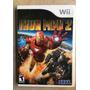 Juego Iron Man 2 Para Wii