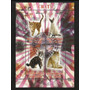 Bloque 4 Estampillas Gatos Maine Coon-american Shortair