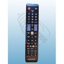 Control Remoto Samsung Smart Hub Led Tv Pantalla Plana Hd 3d