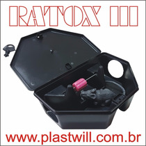 Porta Isca C/chave Caixa C/50 Ratoeira-camundongo-armadilha