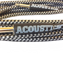 Cable Plug P/guitarra Tejido Alta Calidad 6mts Colores