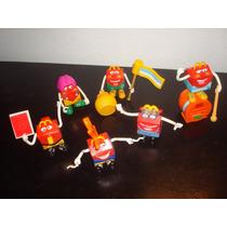 Muñecos Juguetes - Mc Donalds - Mundial