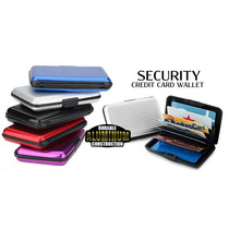 Tarjeteros De Aluminio (security Credit Card Wallet)