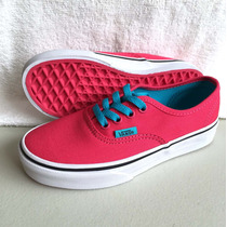 Vans Tenis Niña Authentic Color Fucsia