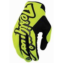 Luva Troy Lee Designs L Xl Trilha Mx Enduro Mtb Bike Asw Fox