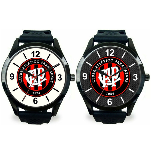 c0af536b725 Kit 2 Relógios Pulso Esportivos Atlético Paranaense Barato - R  120