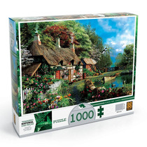 Quebra Cabeça Puzzle 1000 Peças Casa No Lago - Grow