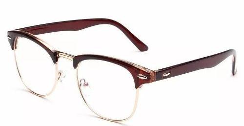 Armação Retrô Acetato Metal Para Óculos De Grau Várias Cores - R  94,99 em  Mercado Livre bcaa3c3e47