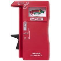 Amprobe Probador De Baterías Tester Bat-250