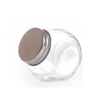 Frasco Doble Posicion De 1/2kg -vidrio -tapa Acero A Rosca