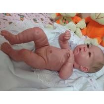 Bebe Reborn Lucy Inteira Em Vinil Siliconado