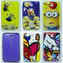 Capa Case Nokia Asha 501 N501 Tematicas + Pelicula
