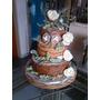 Torta Bodas / 15 Años -rustica -naked Cake Suculentas...