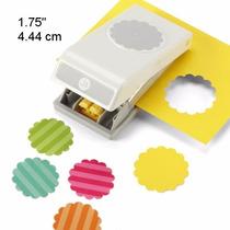 Scrapbook Perforadora Circulo Onditas 4.4cm Ek Papel Tarjeta