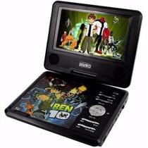Dvd Portátil Disney Ben 10 Tela 7 , Com Tv - Pdt-7130
