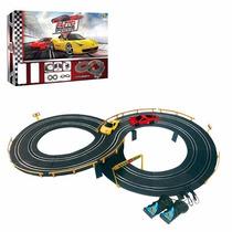 Pista Autorama Elétrica Com 2 Carros Brinquedo Infantil