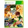 Ben 10 Omniverse 2 Xbox 360 Mídia Física + Pôster Brinde