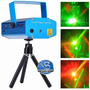 Projetor Holográfico Canhão Laser Com Efeitos Strobo Festas