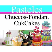 Manual De Pasteles Chuecos Fondant Cupcakes Decoracion Mas