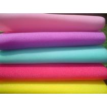Hule Goma Espuma De Colores