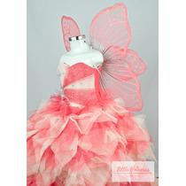 Vestido De Niña Fiesta Con Accesorios - Para Presentación