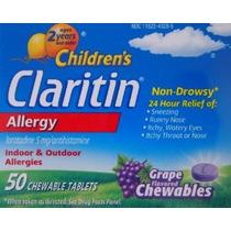 De Claritin Niños Nd Tabletas Masticables De 5 Mg / Antihist
