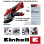 Amoladora Inalambrica Einhell 115mm 18v Litio-ion Te-ag 18
