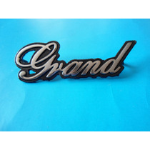 Emblema Grand Wagoneer Jeep Doble Tracción 4 Wheel Drive