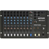 Mesa De Som Stereo Ciclotron Wattsom Mxs 10 Sa 10 Canais
