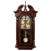 Relógio Carrilhão Parede Corda Madeira Ipê Novo Herweg 5355