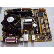 Kit Pl.mãe Ipm41-d3 +proc.d.core E5300+mem.2gb+cooler- Usado