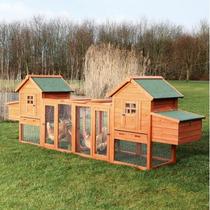 Trixie Pet Products Duplex Gallinero Con El Exterior Run