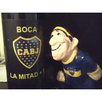 Regala Futbol,jugador De Boca + Vino
