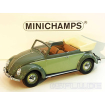 Miniatura Vw Volkswagen Fusca 1200 1949 Minichamps 1/18