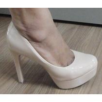 Sapato Scarpin Mariotta Verniz Salto 11,5cm - 1202018 Nude