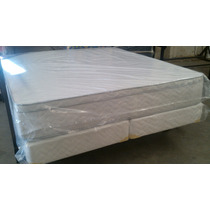 Conjunto Colchon Mas Sommier 190 X 180 Super Reforzado Ofert