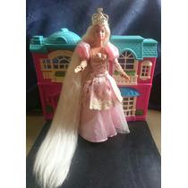 Boneca Barbie Princesa Rapunzel Antiga Anos 90 Original