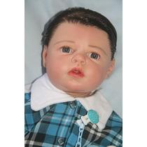 Boneca Bebê Reborn Pedrinho