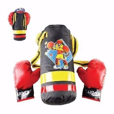 d13f78058 Boxe Infantil Conjunto Com Luvas Saco De Pancada Tiger - R  59