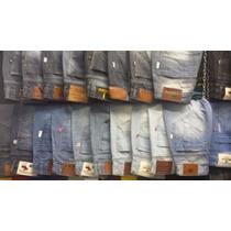 Kit Atacado 3 Calças Jeans + 2 Bermudas Jeans
