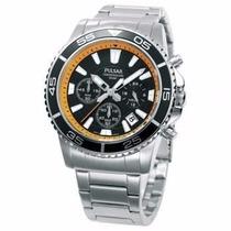 «o. Luxuss» Reloj Pulsar Chronograph Vd53-x011