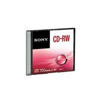 Sony Disco Compacto Sony Rw 1x-4x 700mb