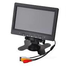 Monitor Lcd De 7 Pulgadas Para 2 Camaras Color